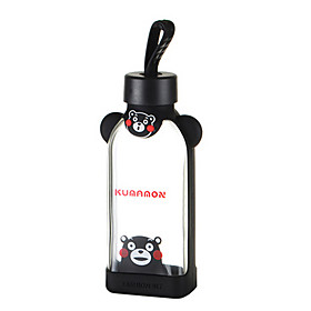 350ml Cartoon Portable GlassWater Juice Bottle 5775254