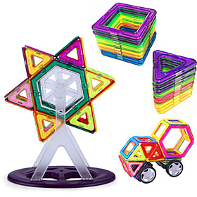 Magnet Toys Building Blocks 3D Puzzles Magnetic Blocks Magnetic Building Sets Science  Discovery Toys Stress Relievers Educational Toy 93