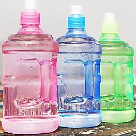 500mL Plastic Tea Time Bottles Leak-proof Cup Portable Water Bottle for Outdoor Sport 3204