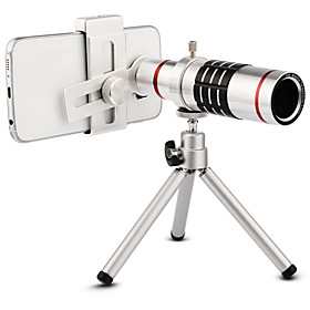 High quality 18x Zoom Optical Telescope Telephoto Lens Kit Phone Camera Lenses With Tripod For iPhone 6 7 Samsung S7 Xiaomi mi6
