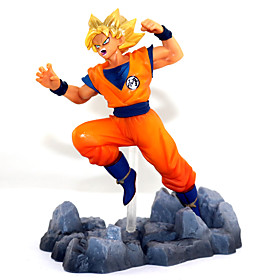 Anime Action Figures Inspired by Dragon Ball Son Goku 13 CM Model Toys Doll Toy 5800563