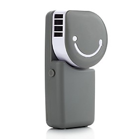 USB Mini Handheld Air-Conditioning Rechargeable Small Fan A Portable Refrigeration Leaves Small Fan 5772962