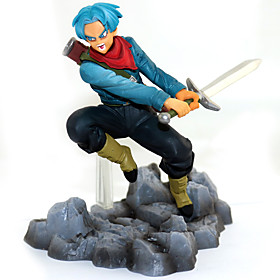 Anime Action Figures Inspired by Dragon Ball Goku Trunks Torankusu PVC 11 CM Model Toys Doll Toy 5800562