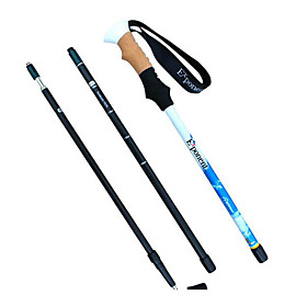 4 Nordic Walking Poles 130cm (51 Inches) Damping Foldable Light Weight Adjustable Fit Aluminum Alloy 7075Camping  Hiking Snowshoeing 5854749