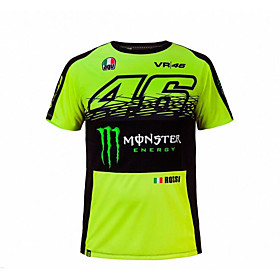 motorcycle MotoGP T-shirt riding suits motorcycle VR46 Knight Locy cotton short-sleeved racing suit T-shirt 5785868