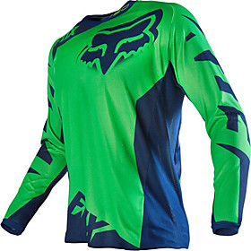 FOX Motorcycle off-road T-shirt long-sleeved riding suit speed off the outdoor sports casual wear 5785878