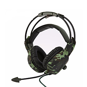 SADES SA-931 Super Stereo Bass Camouflage Headphones Home Office Gaming Gamer Noise Isolation Comfortable Headsets 5754712
