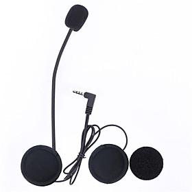 Vnetphone 3.5mm Jack Plug V6 intercom V4 Interphone Headset Accessories Earphone Stereo Suit for V6 Intercom V4 Helmet Interphone Accessories Parts