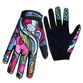 Gloves Sports Gloves Women's Men's Cycling Gloves Spring Autumn/Fall Winter Bike GlovesKeep Warm Anti-skidding Wearproof Ultraviolet 4721023