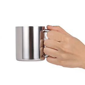 230ml Double Layers Cup Stainless Steel Mug for Child Kid Thermal Insulation Simple Style Drinkware Back to School 5854047