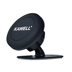 Phone HolderKAWELL Universal Stick On Dashboard Magnetic Car Mount Holder (For Car Kitchen Bedside Bathroom) Cell Phone Car Mount for Cell Phones