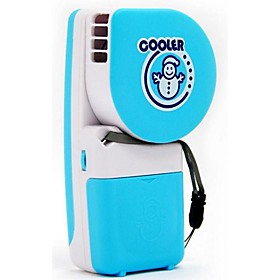 Creative Handheld Mini Air Conditioning Fan Snowman USB Battery Portable Refrigeration Students Children Leaves Small Fan 5802337