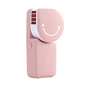 YY WT803A USB Mini Fan USB Mini Pocket Air Conditioning Fan Smile Face Charging Fan 5796815