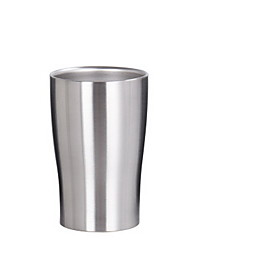 280ml Stainless Steel Double-deck Beer Glass Handy Cup 5926899
