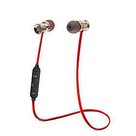SYOTO Wireless Bluetooth Earphone Noise Cancelling Stereo Music Sport Headset Metal Magnetic Earbuds with Microphone 5969003
