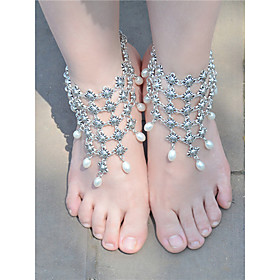 Women's Anklet/Bracelet Imitation Pearl Alloy Fashion Vintage Drop Jewelry For Daily Casual 1 pcs 5894694