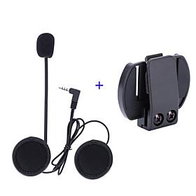 Vnetphone 3.5mm Helmet Microphone V6 intercom V4 Interphone Headset Accessories Stereo Clip Buckle for V6 Intercom V4 Helmet Interphone Accessories 5935067