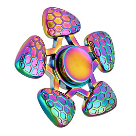 Toupies Fidget Spinner  main Jouets Tri-Spinner Ring Spinner Metal EDC Nouveautes  Farces