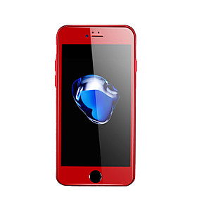 MOCOLLFor Iphone7Plus Red Soft Edge Full Screen Full Coverage Scratch Resistant Wearable 9H High Definition Tempered Glass Film 5942341