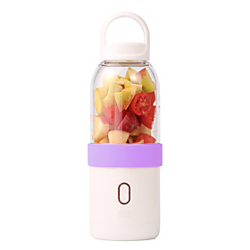 Yiloo Relieved Portable Electric Cups USB Rechargeable Fruit Juicer Automatic Mixing Cup Six Blade Blade 5893224