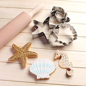 Molde Desenhos Animados 3D Animal Estrela Para Bolo Para Chocolate Para Pão Para Biscoito para Cupcake Aço InoxidávelHalloween Casamento 5878003