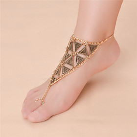 Women's Anklet/Bracelet Alloy Fashion Vintage Infinity Silver Gold Women's Jewelry For Daily Casual 1pc 5894679