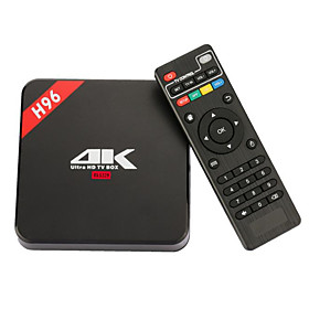 H96 TV Box Android6.0 TV Box RK3229 1GB RAM 8GB ROM Quad Core