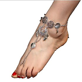 Women's Anklet/Bracelet Alloy Vintage Bohemian Silver Women's Jewelry For Daily Casual 1 pc 5897334
