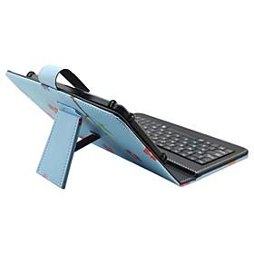 Cassa del ipad con la versione inglese del usb della tastiera 7-8 pollici universali del cuoio del cuoio del gufo del fumetto per ipad 5965560