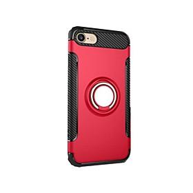 Para o iphone 7 mais 7 capas de capa à prova de choque com suporte de anel de suporte capa de capa capa de armadura para iphone 6s mais 6 5873354