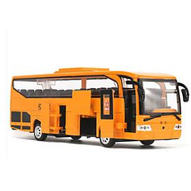 MZ Toy Car Bus Car Bus LED Light Simulation Music  Light Unisex Boys' Girls' Toy Gift