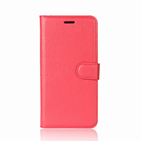 Case For Apple iPhone X / iPhone 8 / iPhone 8 Plus Wallet / Card Holder / with Stand Full Body Cases Solid Colored Hard PU Leather for iPhone X / iPhone 8 Plus