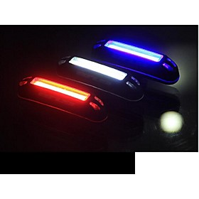 LED Bike Light Rear Bike Tail Light Safety Light Tail Light LED Cycling Outdoor Water Resistant LED Light USB Lithium Battery 100 lm USB Natural White Red Blue