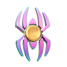 Hand Spinner Toys Relieves ADD, ADHD, Anxiety, Autism Spider Metal Pieces Adults' Gift 5897182