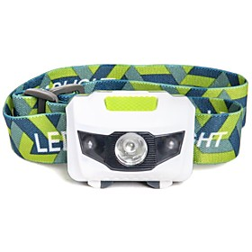 Mini Ultra-light Portable LED Headlamp Headlight Hands-free Flashlight 1 White 2 Red LED For 3 AAA Batteries 5939988
