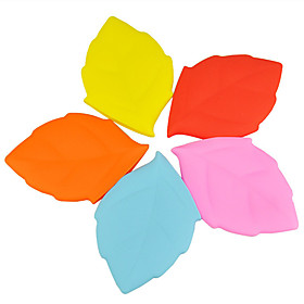 Silicone Creative Maple Leaf Wash Cups Portable Drinking Cups Travel Outdoors Drinking Water Folding Cups 5878850