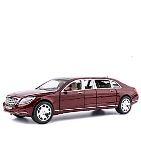 Die-Cast Vehicles Pull Back Vehicles Toy Cars Plane Furnishing Articles Simulation Car Metal Alloy Unisex Boys Gift Action  Toy Figures 5961037