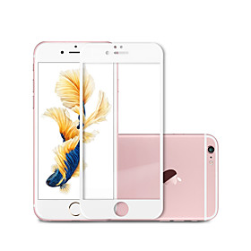 Chinese Red 3D Soft Edge 2017 Full cover Tempered Screen Protector for iPhone7 ,Tempered Glass for iPhone6s , With OPP Bag 398405735