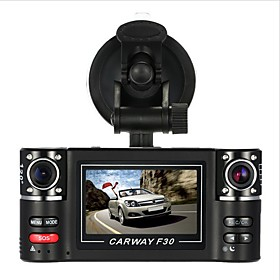 F30S HD 1280 x 720 Car DVR 120 Degree Wide Angle 2.7 inch Dash Cam with Car Recorder