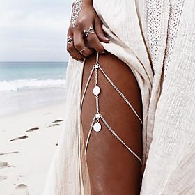 Women's Body Jewelry Body Chain Fashion Alloy Irregular Jewelry For N/A