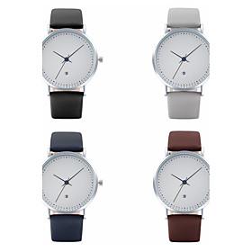 High Quality Quartz Watch Auto Calendar Leather Watches Women Luxury Top Brand Wristwatch Waterproof Clock 5914136