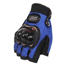 Sports Gloves Unisex Cycling Gloves Bike Gloves Protective Anti-skidding Fingerless Gloves Leather Cycling Gloves/Bike Gloves 5883213
