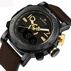 Luxury Brand NAVIFORCE Men Sport Military Watches Men's Quartz Analog Digital Wrist Watch Man Clock Relogio Masculino 5918059