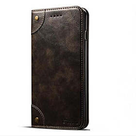 Case For Apple iPhone 7 / iPhone 7 Plus Wallet / Card Holder / with Stand Full Body Cases Solid Colored Hard PU Leather for iPhone 7 Plus / iPhone 7 / iPhone 6
