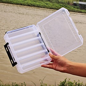 Fishing Tackle Boxes Favor Boxes Lure Box 2 Trays Plastics 20 cm6 3/4