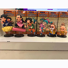 Anime Action Figures Inspired by Dragon Ball Son Goku PVC 8 CM Model Toys Doll Toy 6001215