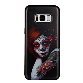 Case For Samsung Galaxy S8 S8 Plus Case Cover Red Eye Girl Pattern PC TPU Combo Strong Relief Drop Phone Case For Galaxy S7 S7 Edge S6 S6 Edge 6042283