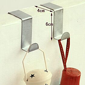 Plastic Normal Multifunction Home Organization, 1set Door Hooks Novelty Hooks Kitchen Hooks Bath Hooks Bag Hooks