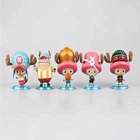 Figures Animé Action Inspiré par One Piece Monkey D. Luffy PVC 7 CM Jouets modèle Jouets DIY 6001254