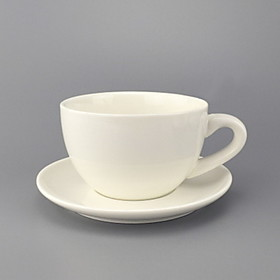 Ceramic Simple Creative European Coffee Cup And Saucer 5999759